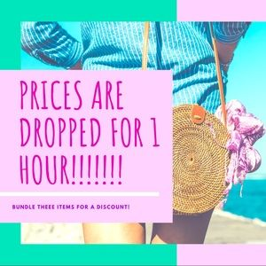 Come shop my lowest prices ! For one hour only !!